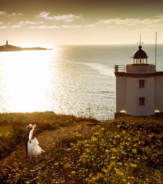 Foto boda exterior Tragaluz Fotógrafos Coruña