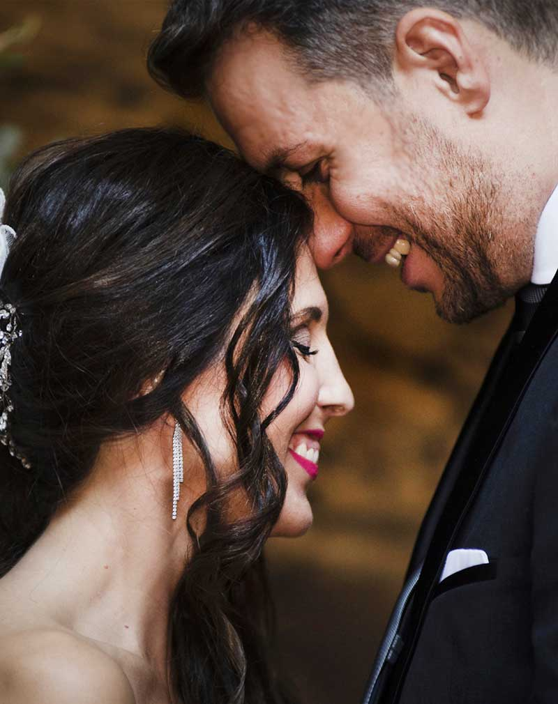 Fotos novios boda Galicia Tragaluz