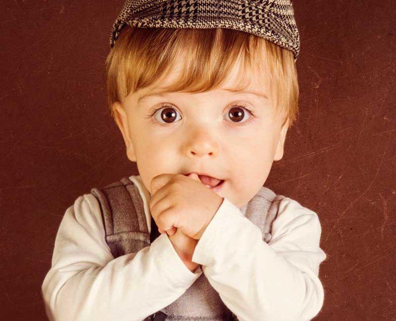 Fotos infantiles estudio Galicia Tragaluz